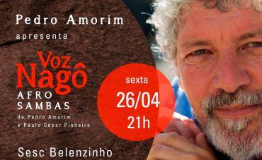 Pedro Amorim: lançamento do disco